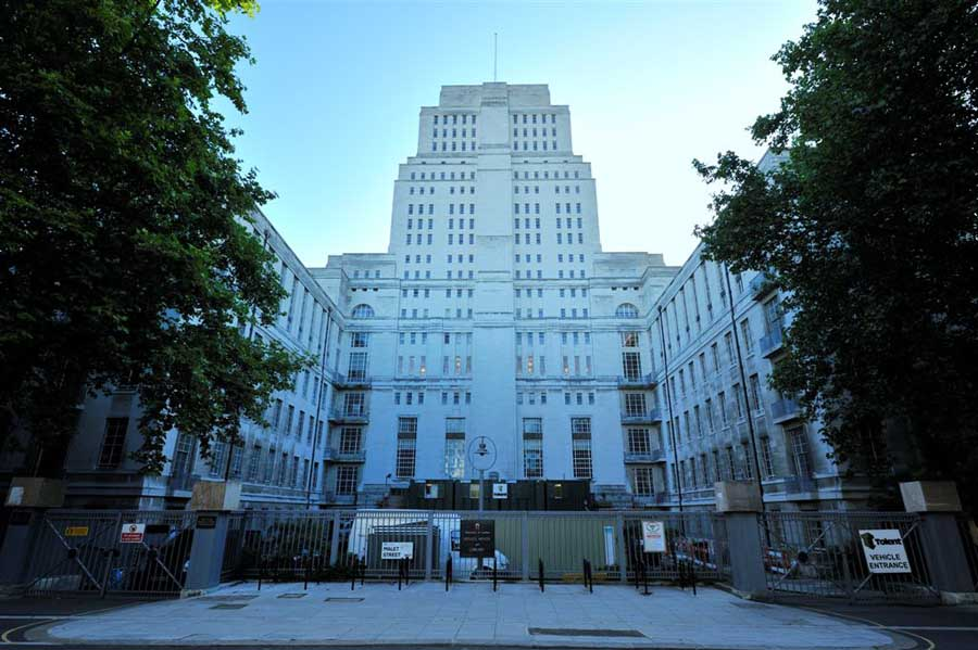 Senate House London Building by Charles Holden  earchitect
