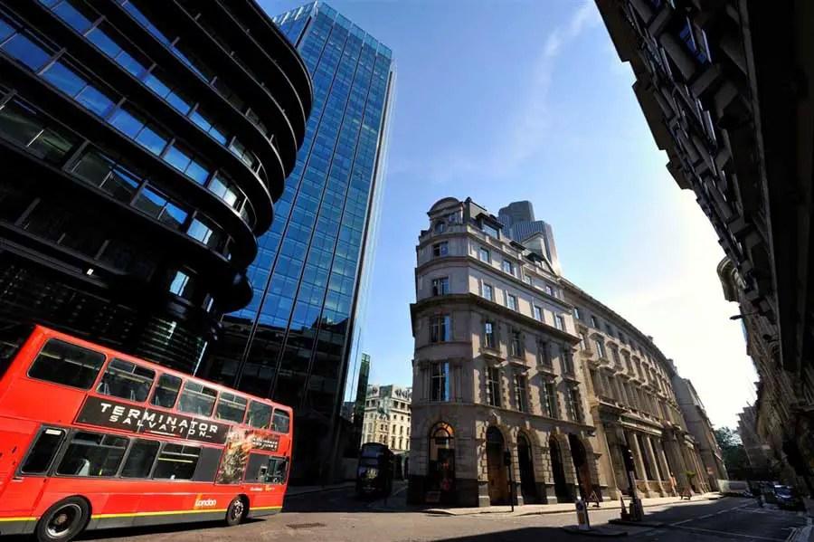 Stock Exchange Building Threadneedle Street Building E