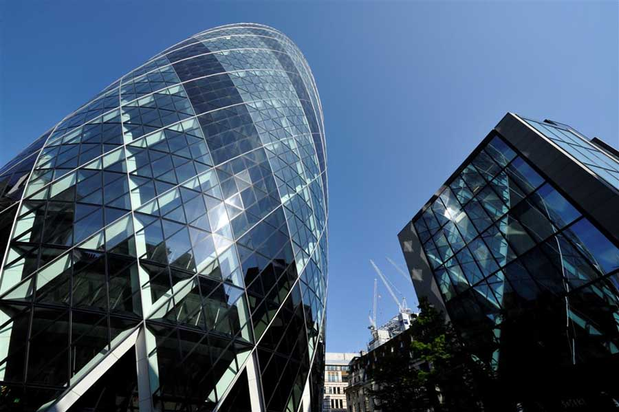 Swiss Re Building: The Gherkin London - e-architect