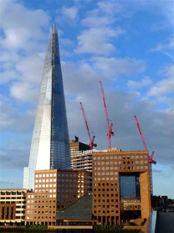 The Shard London Skyscraper Tower E Architect