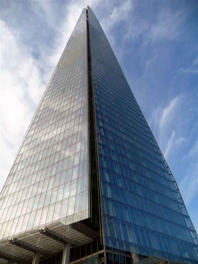 The Shard  London Skyscraper Tower  earchitect
