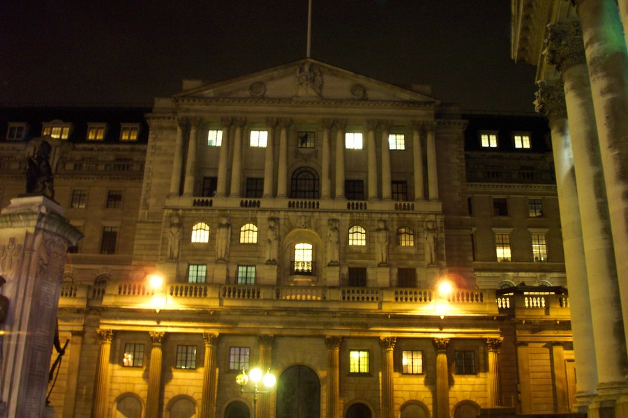 Bank of England Building Threadneedle Street London  e