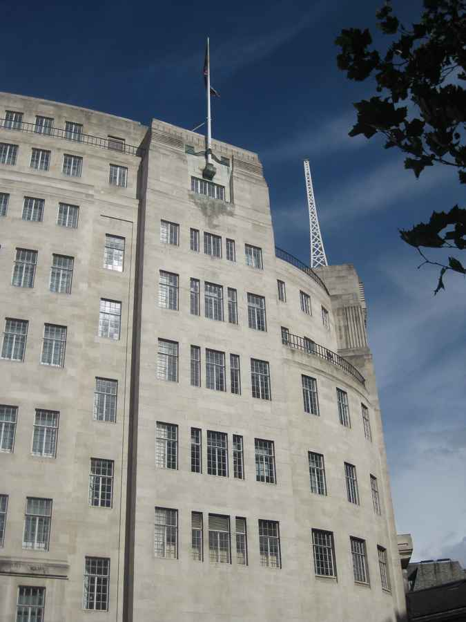 BBC Building London Broadcasting House London E Architect