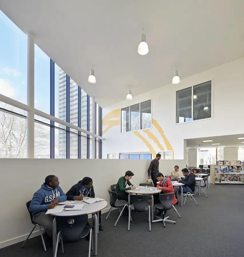 Oasis Academy Enfield  London School  earchitect