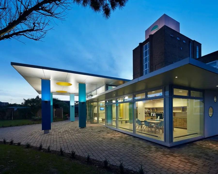 Rivers Academy London  Feltham Building  earchitect