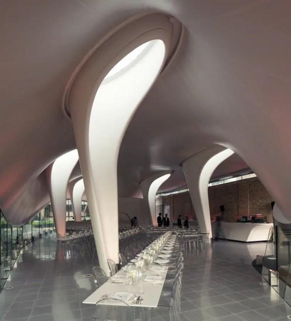 Sackler Serpentine Gallery Zaha Hadid
