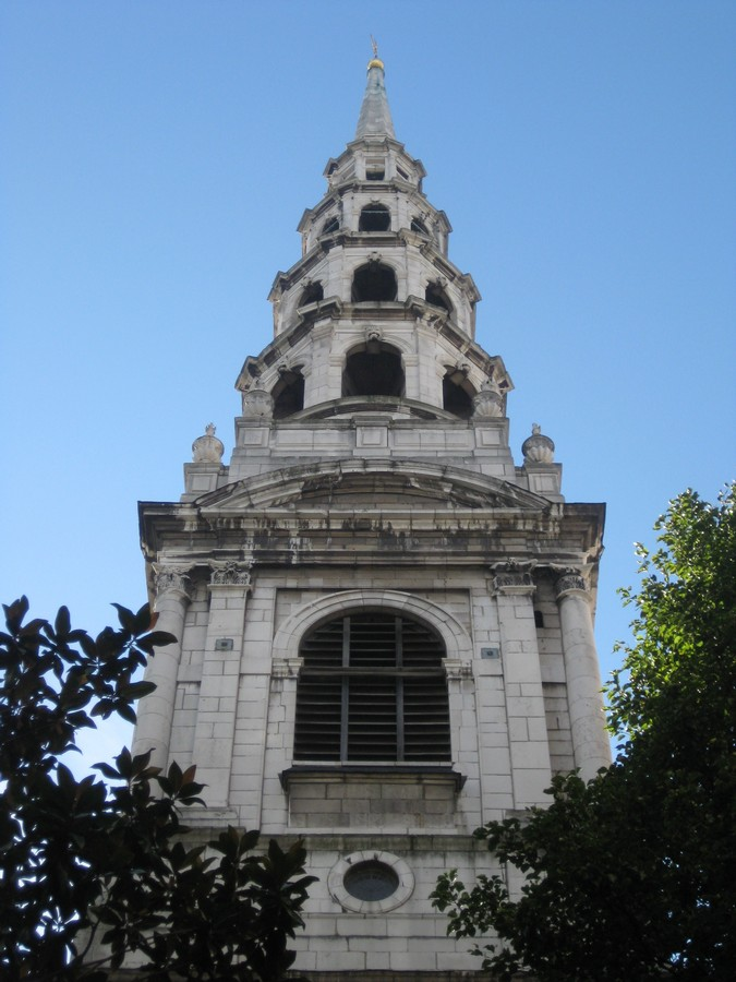 St Mary le Bow London  Christopher Wren Church Building  earchitect