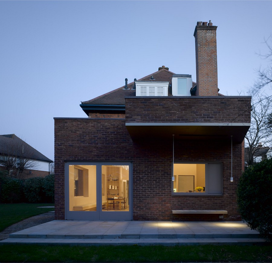 Stitched House  Wimbledon Residence  earchitect
