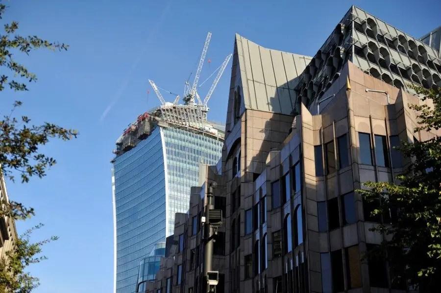 Walkie Talkie Building London 20 Fenchurch Street  earchitect