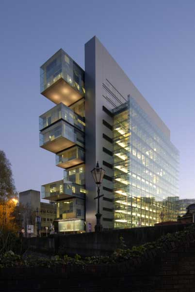 Manchester Civil Justice Centre  Law Courts  earchitect