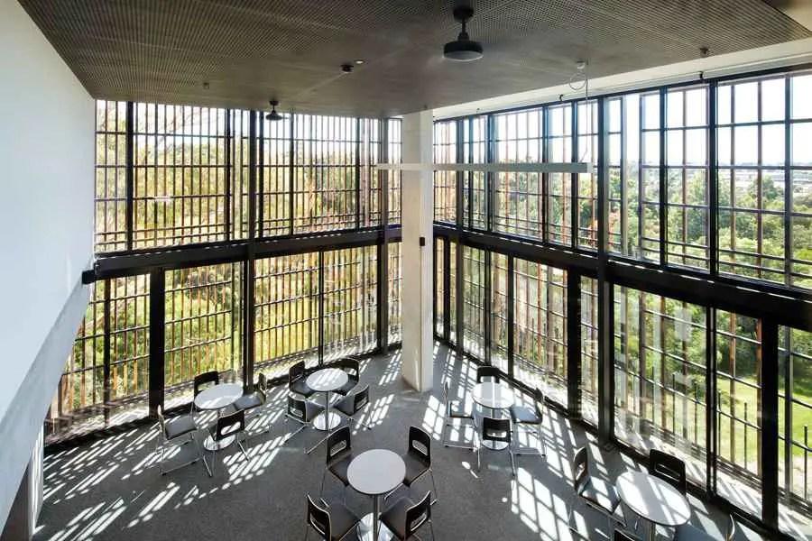 small space living room design designs photos modern monash university student housing, melbourne building - e ...