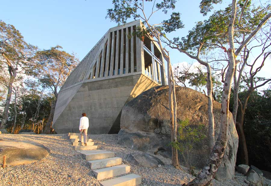 Sunset Chapel Acapulco Church Mexico  earchitect