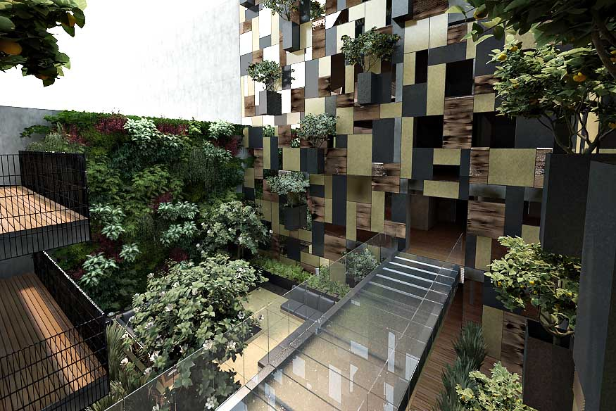 Goldsmith Apartment Building Mexico City  Polanco