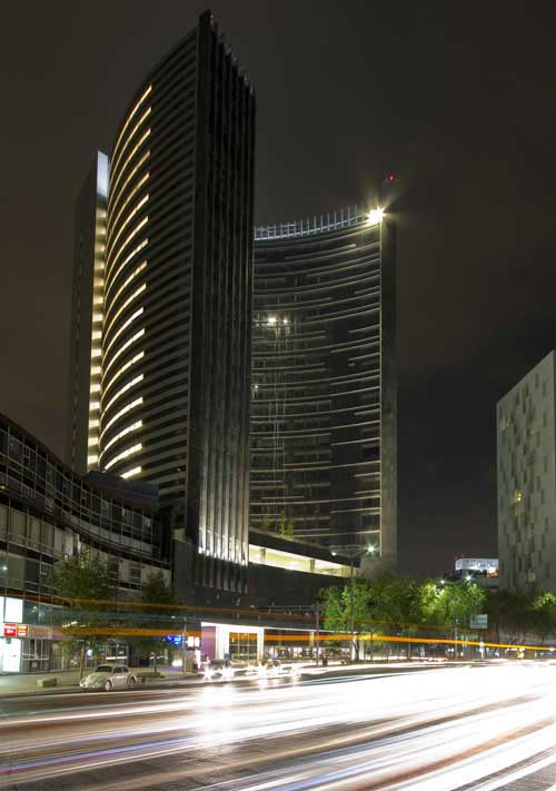 Plaza Residences Mexico City Residential Tower  earchitect