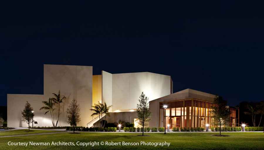 Performing Arts Center Boca Raton Lynn University Campus