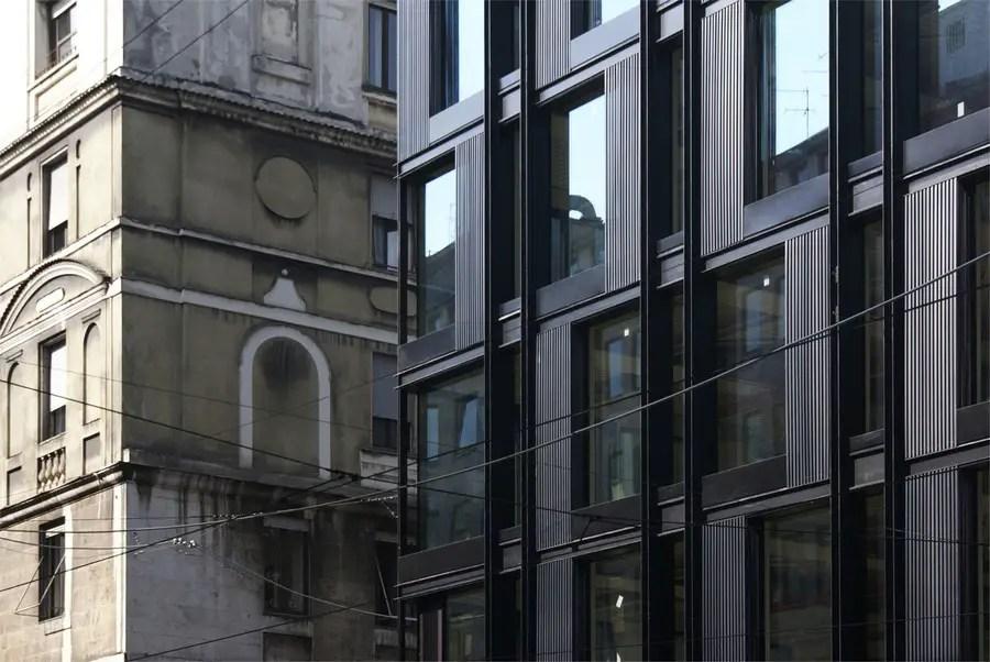 Milan Office Building Via Turati  La Serenissima Milan  earchitect