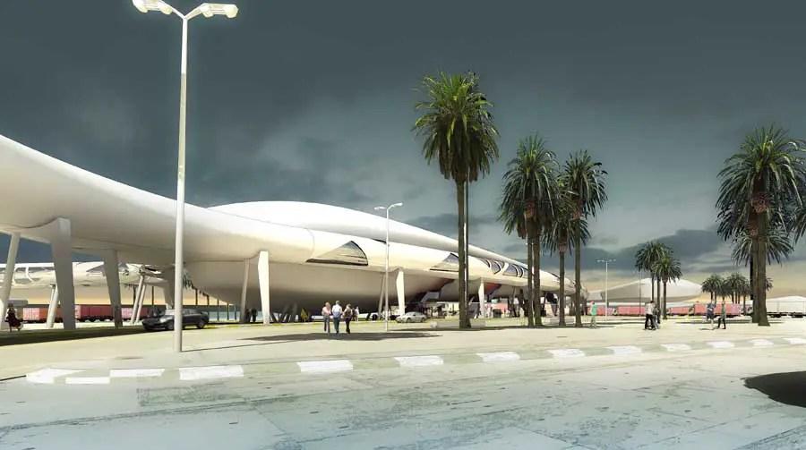 Tangier Passenger Terminal  Morocco  earchitect