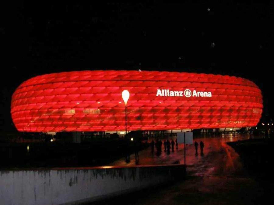 Signal Iduna Park Wallpaper Hd Allianz Arena Bayern Munich Football Stadium E Architect