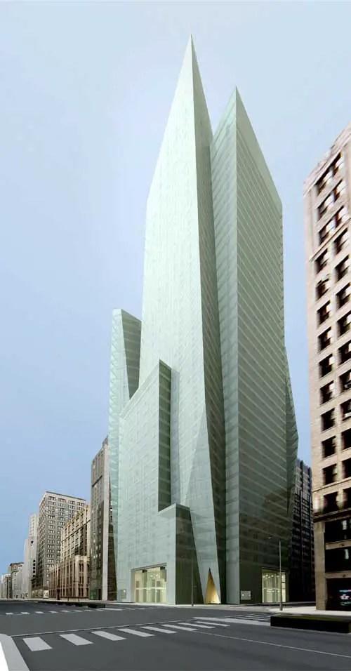 400 Park Avenue Tower New York  Manhattan Skyscraper  e