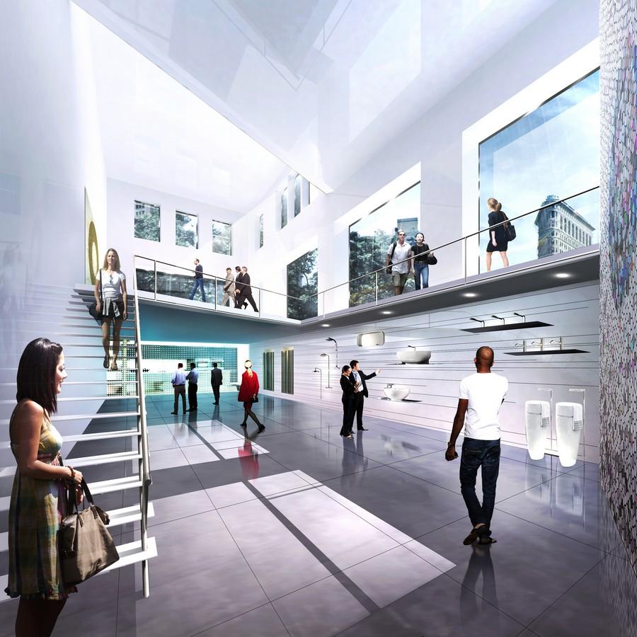 Porcelanosa Showroom New York  Manhattan Flagship  e
