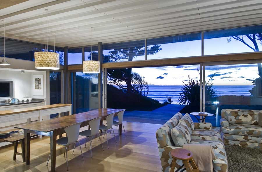 Raumati Beach House Wellington  earchitect