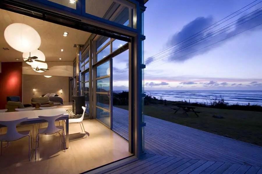 Waitara Bach  New Zealand Beach Property Home  earchitect