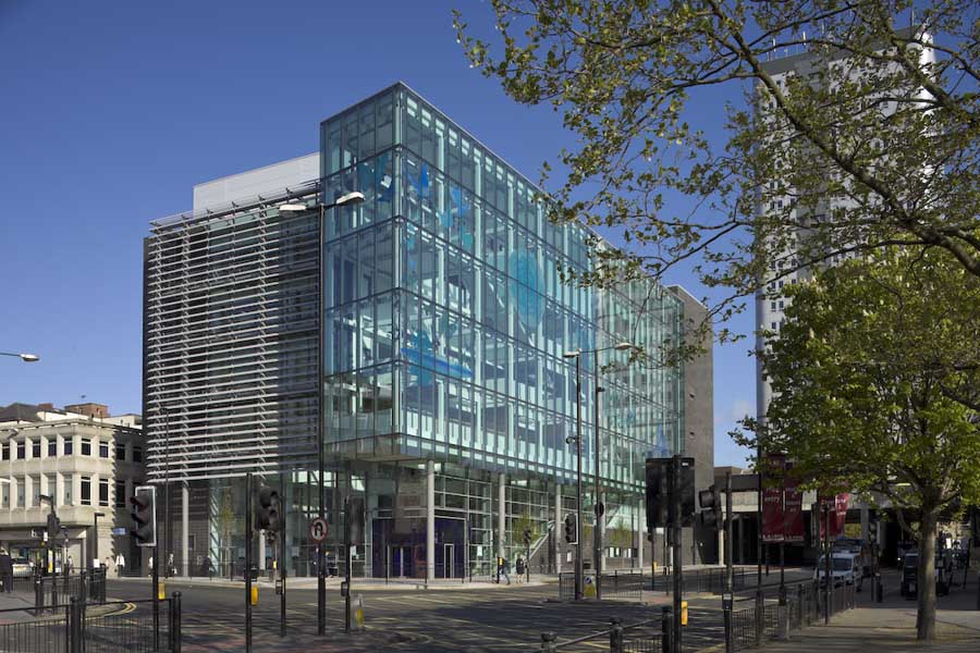 Newcastle City Library Building  earchitect