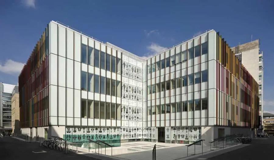 University of Oxford Biochemistry Building  earchitect