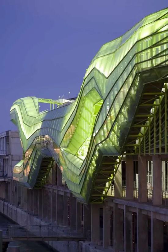 Docks De Paris Cit 233 De La Mode Et Du Design E Architect