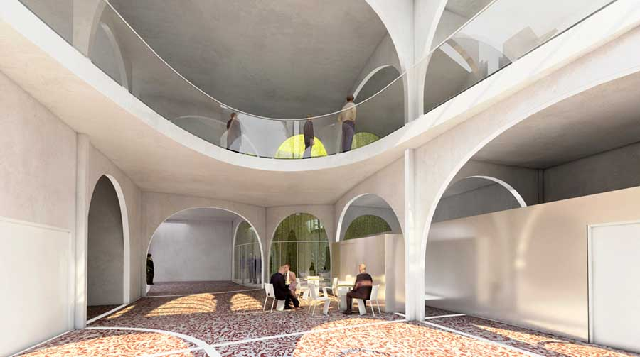 Institute for Islamic Culture Paris  earchitect