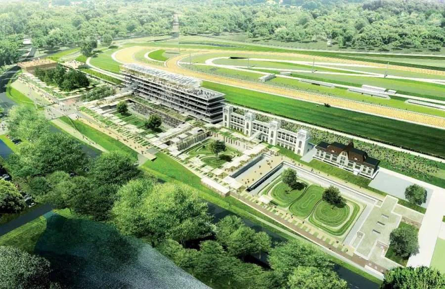 New Longchamp Racecourse Paris E Architect