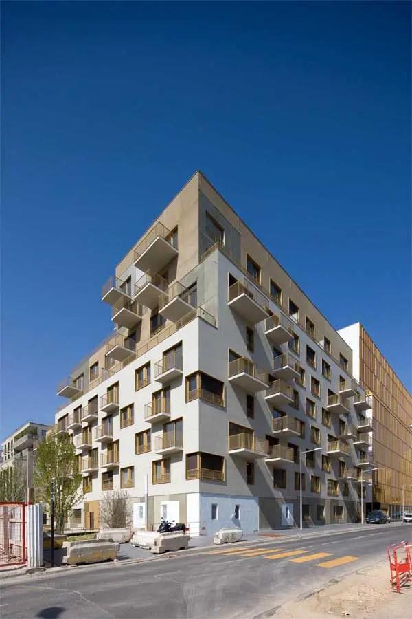 Tour Horizons Boulogne Billancourt Tower Paris E Architect