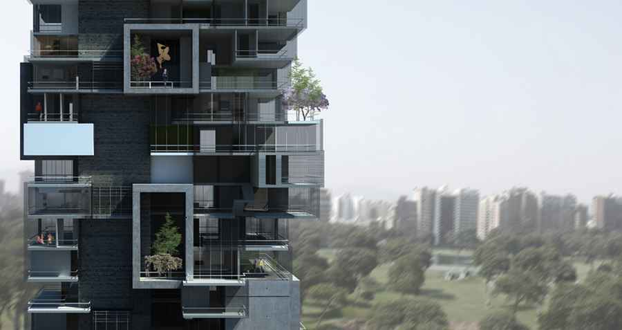 Lima Residential Building  Peruvian Housing Development  earchitect