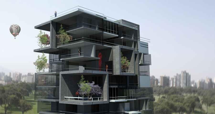 Lima Residential Building  Peruvian Housing Development
