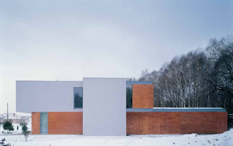 Broken House Modern Polish Home  earchitect