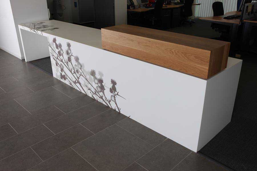 Corian Thistle Scotland SEPA Offices Aberdeen  earchitect