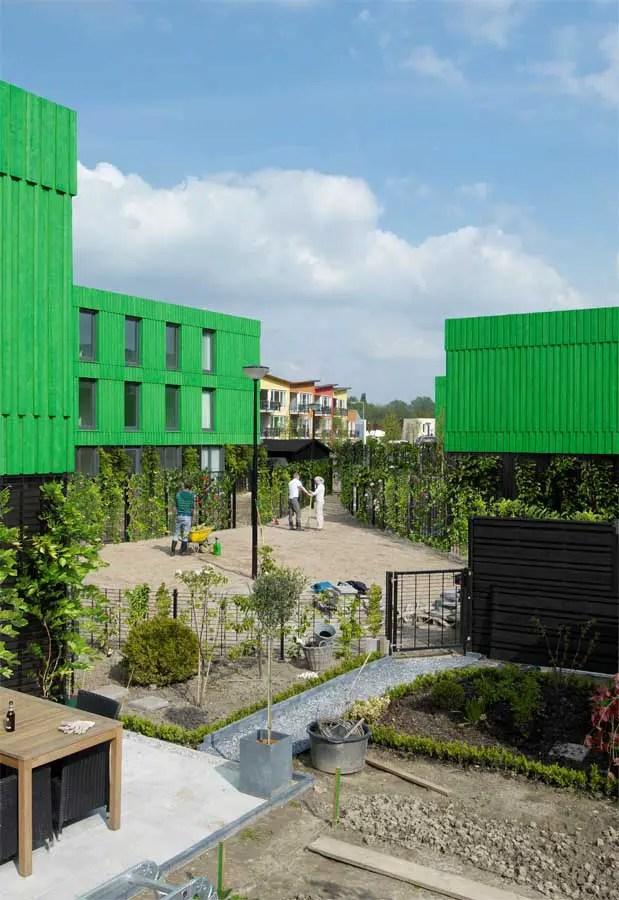 Co Housing Hoogvliet Rotterdam Residential Building E