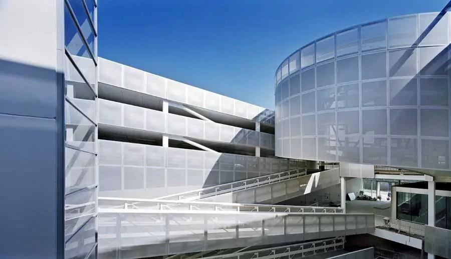 Veranda multistorey car park Dutch Parking Building Rotterdam Car Park  earchitect