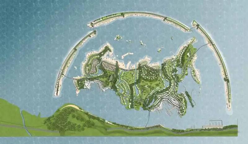 Federation Island Sochi  Russian Black Sea  earchitect