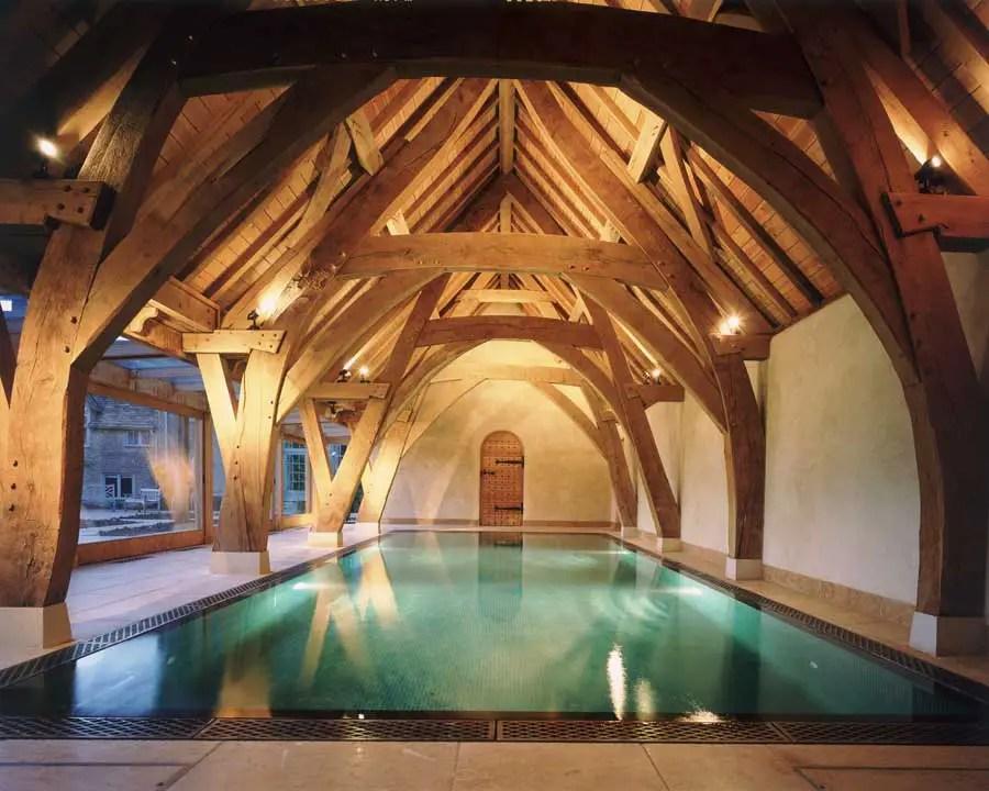 Scottish Timber House Structure  Coldstone House Scottish Oak  earchitect