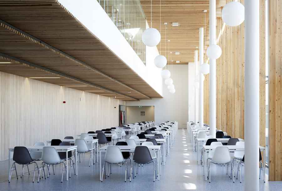 Forth Valley College Stirling Education Campus E Architect