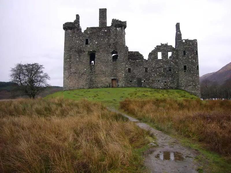 Kilchurn Castle Scotland Loch Awe Photos  earchitect