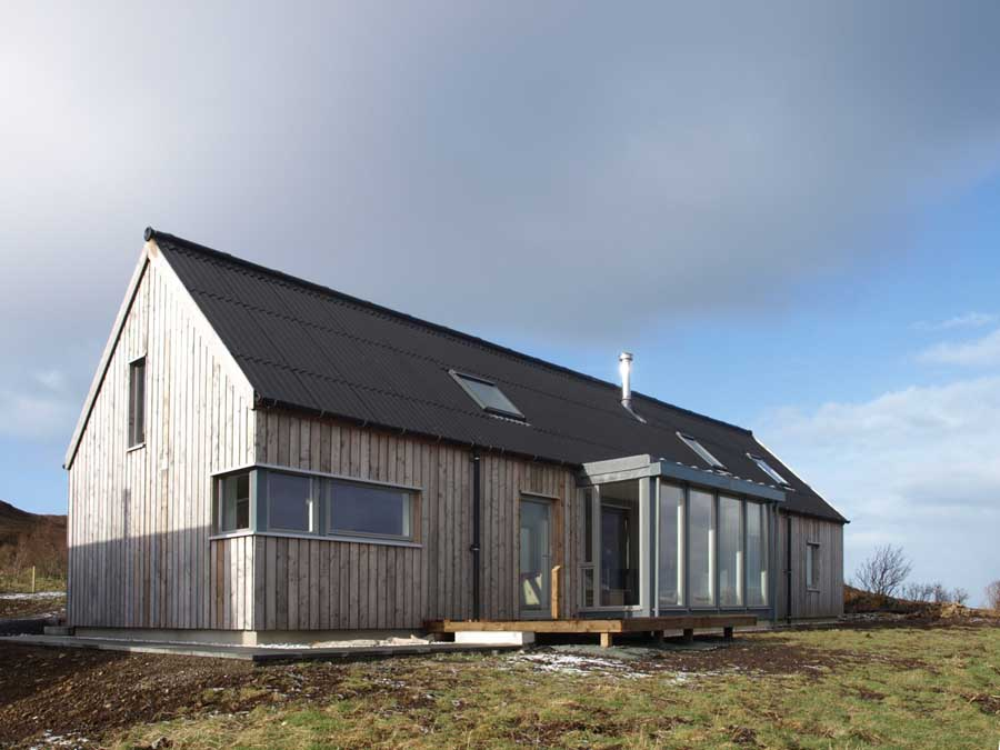 Long House Isle Of Skye Property Scotland E Architect