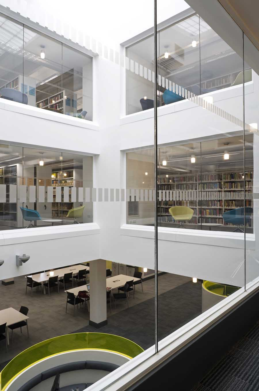 University of Stirling Library Building  earchitect