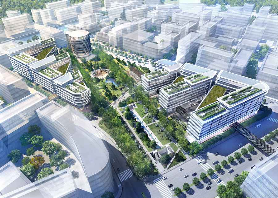Hongqiao Airport Central Business District  earchitect