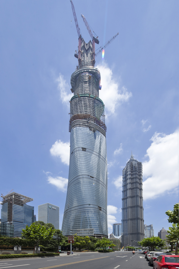 Shanghai Tower Building China Skyscraper  earchitect