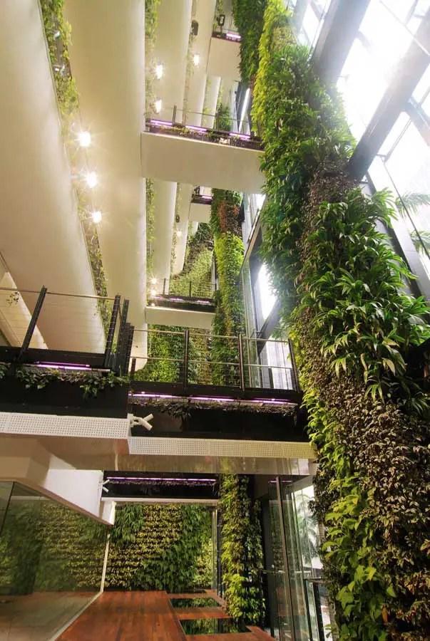 Singapore CBD Building  Hanging Garden  earchitect