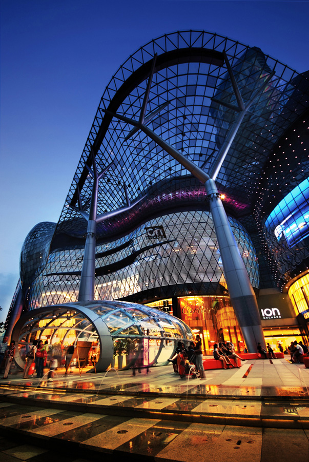 ION Orchard  Singapore Retail Mall  earchitect