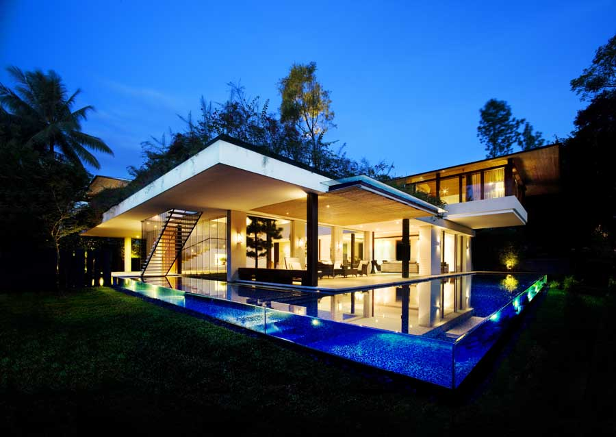Tangga House Singapore Home by Guz Architects  earchitect