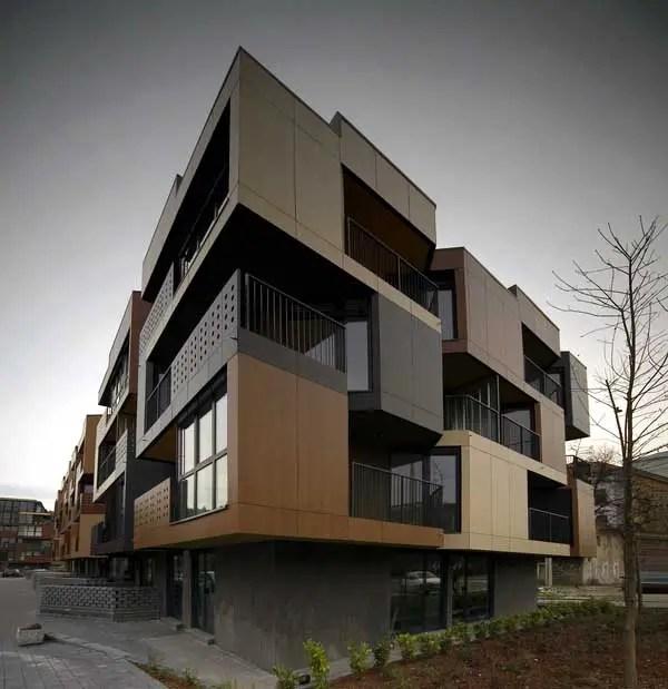 Tetris Housing Ljubljana Apartments  Slovenia Residential  earchitect